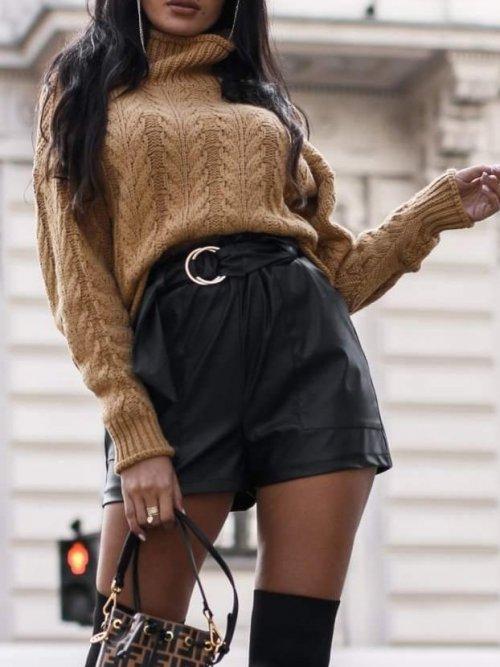 Spodenki Black short