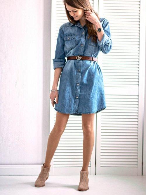 Sukienka jeansowa Nifty