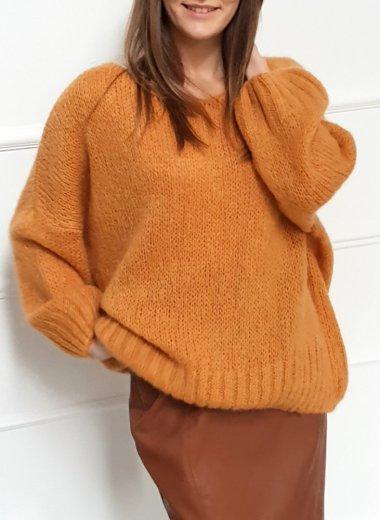 Sweter Anami musztarda