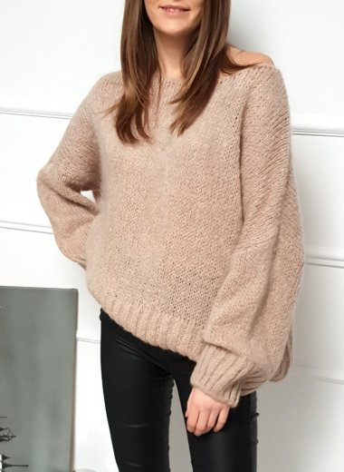 Sweter Anami beige