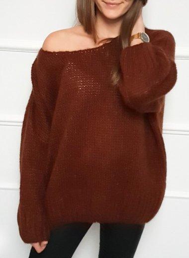 Sweter Anami brąz