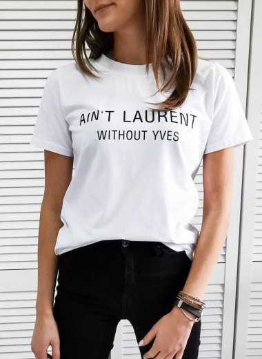 T-shirt Laurent white