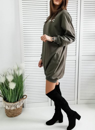 Bluza Basic khaki