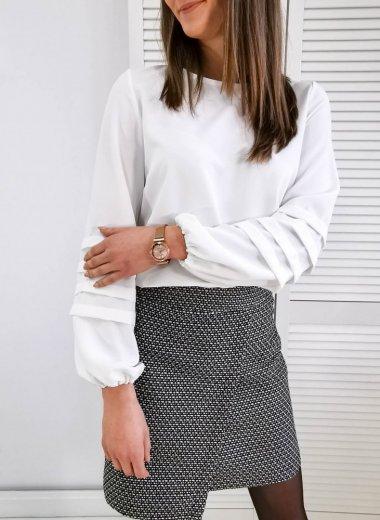 Bluzka elegancka krem Blois