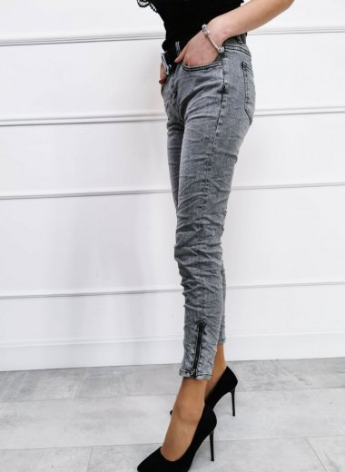 Spodnie jeansowe Vancouver szare