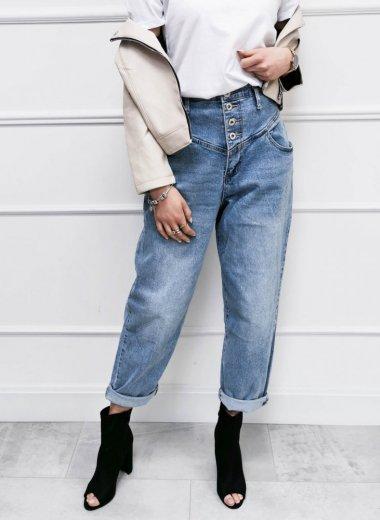 Spodnie Balloon jeans Jean