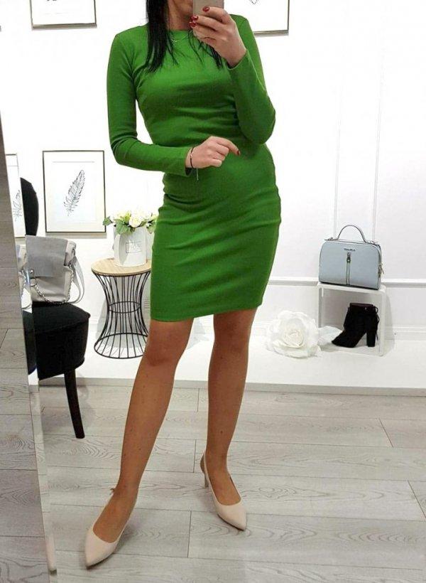 Sukienka zielona Patty
