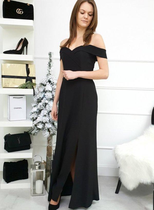 Sukienka Cloe long black