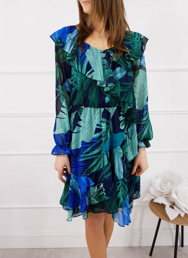 Sukienka Dominique zielona