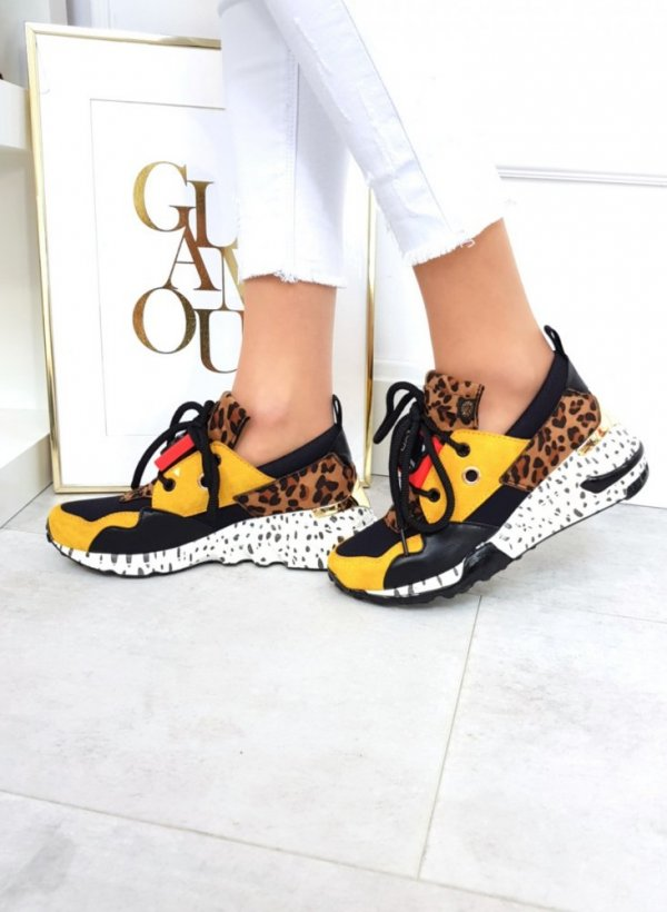 Sportowe buty SHOCK yellow