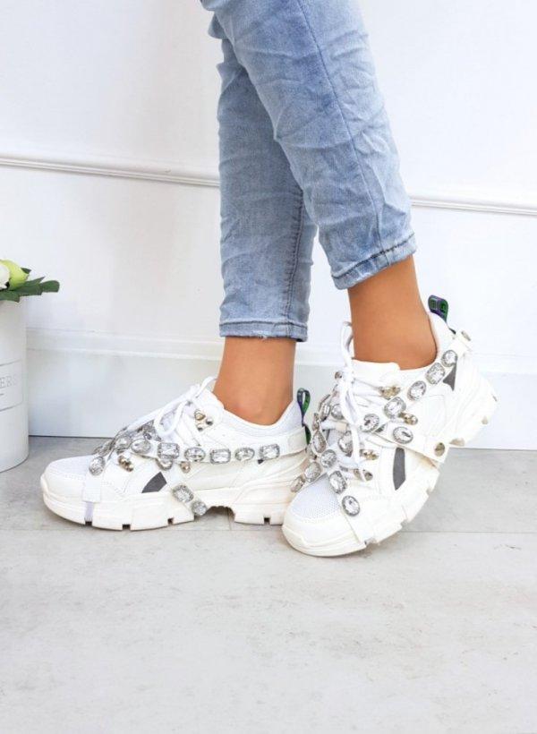 Sportowe buty Crystal White