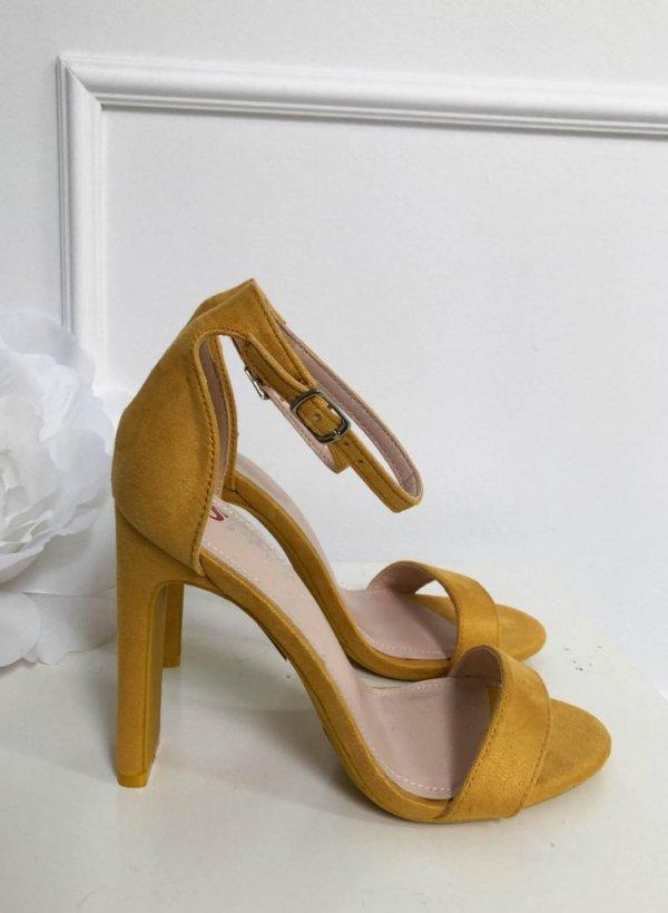 Sandały Vera żółte