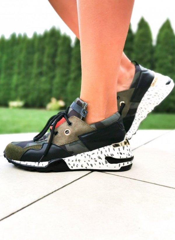 Sportowe buty SHOCK green