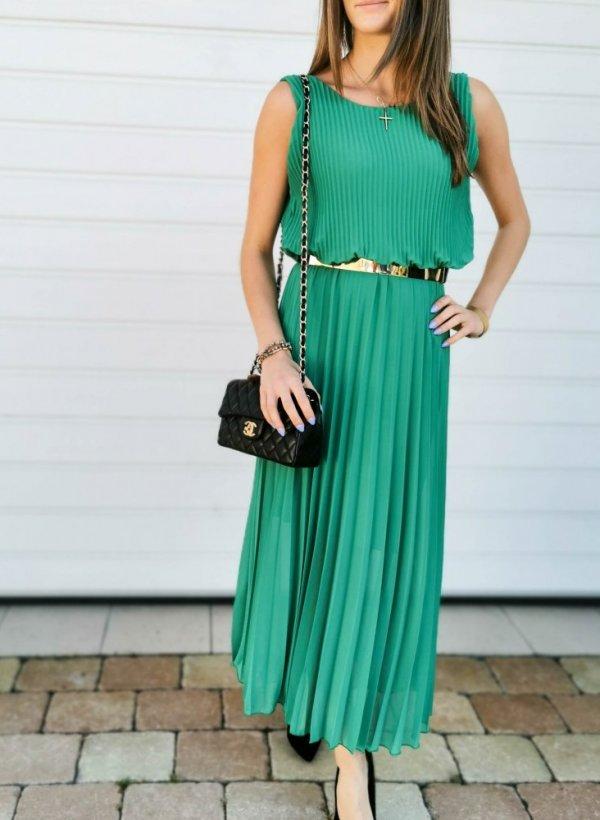 Sukienka zielona Fantasy