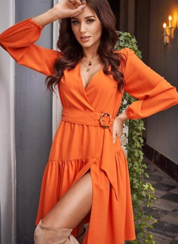 Sukienka Furia pomarańcz