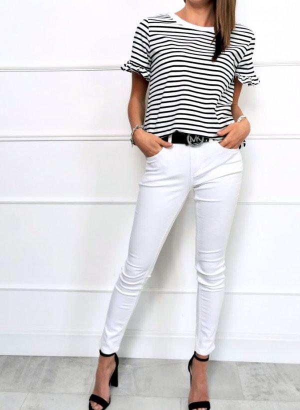 Spodnie Casidy białe