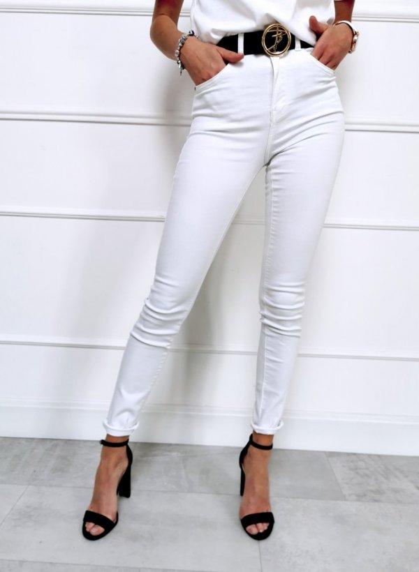 Spodnie białe One