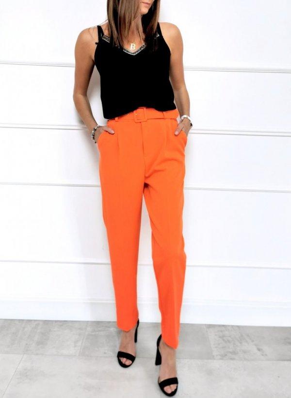 Spodnie Tarent oranż