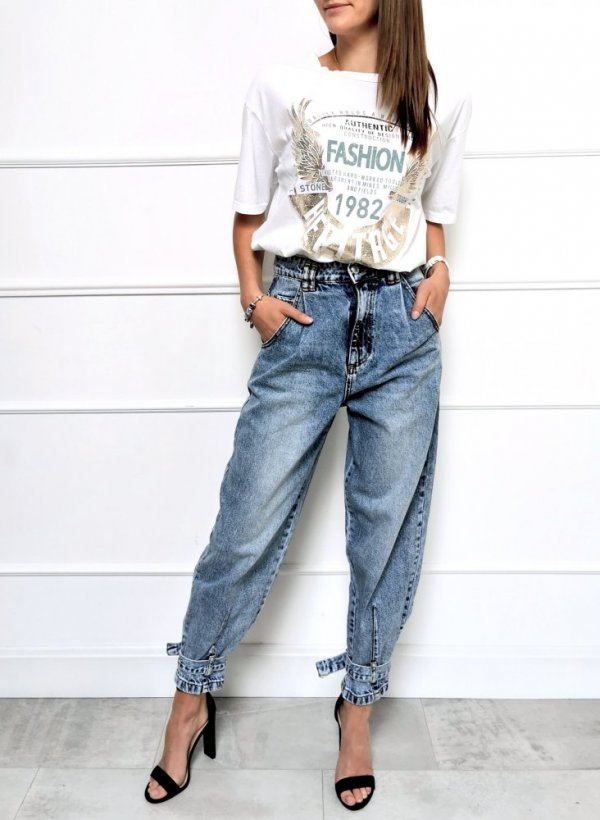 Spodnie jeansowe Slouchy Berlin