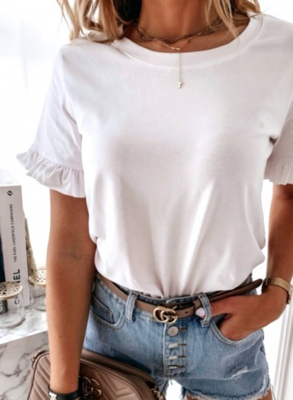 Bluzka Ferrara biała