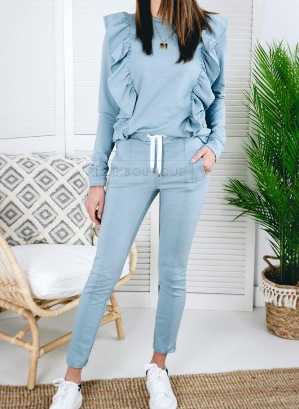 Spodnie dresowe Carrie mięta