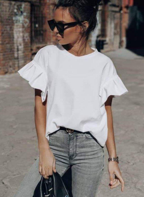 Biała bluzka Victoria