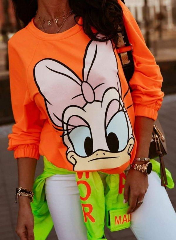 Bluza Daisy orange