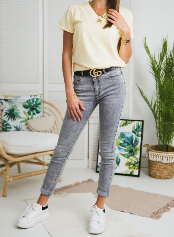 Spodnie jeansowe Miami szare