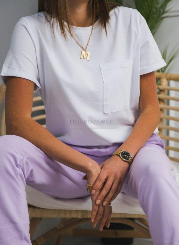 T-shirt/bluzka z kieszonką White