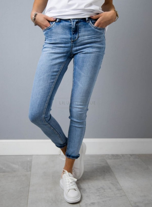 Jeansy Outbreak blue
