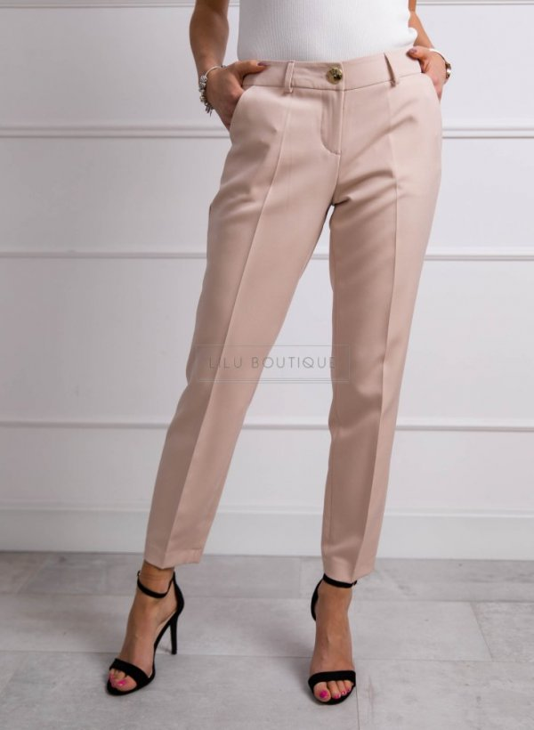 Spodnie Prince light beige