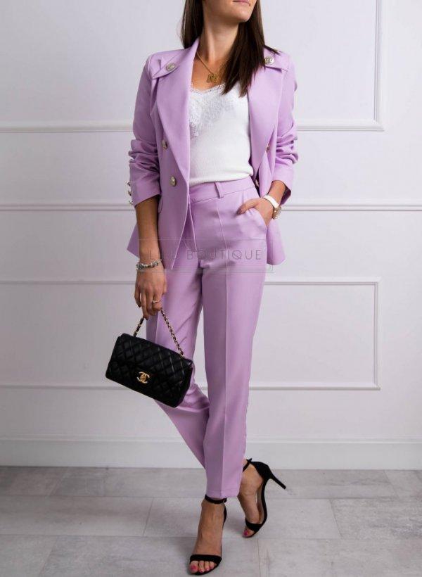 Spodnie Prince violet