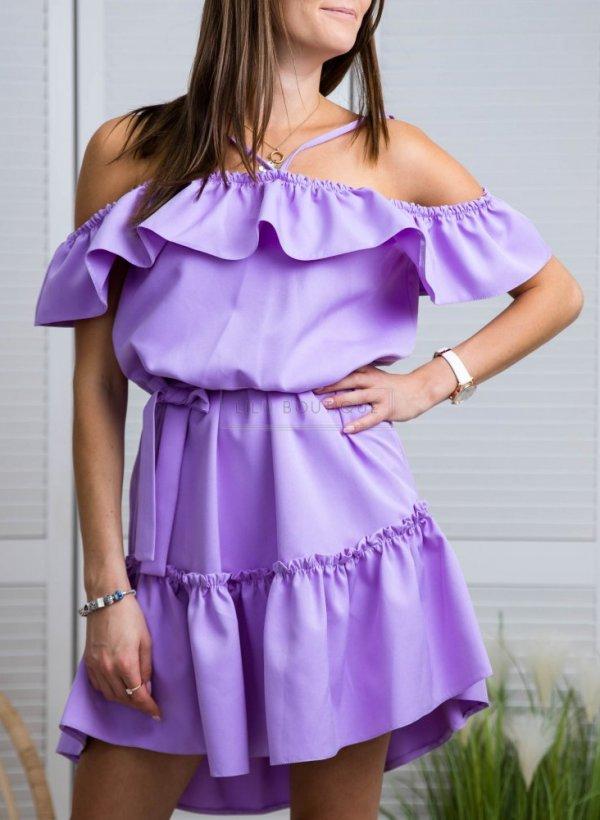 Sukienka hiszpanka Precious violet