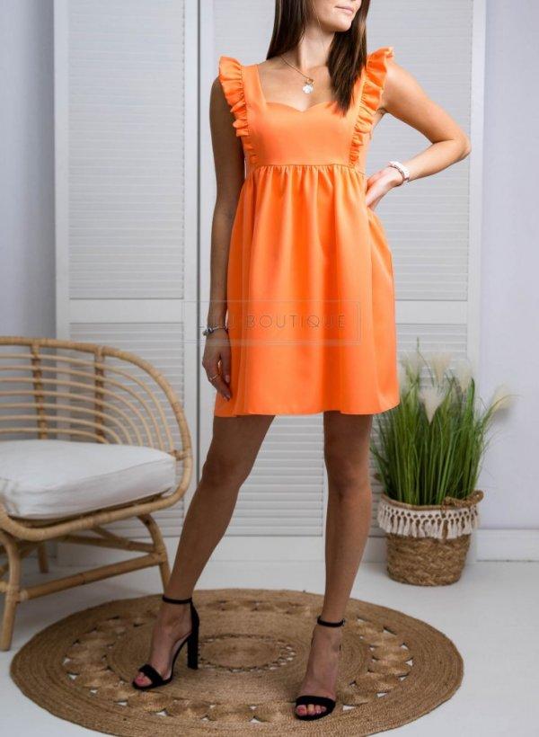 Sukienka Passion pomarańczowa