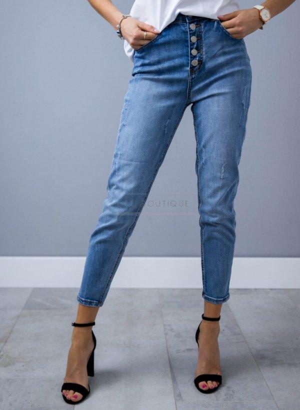 Spodnie jeansowe Buttons blue