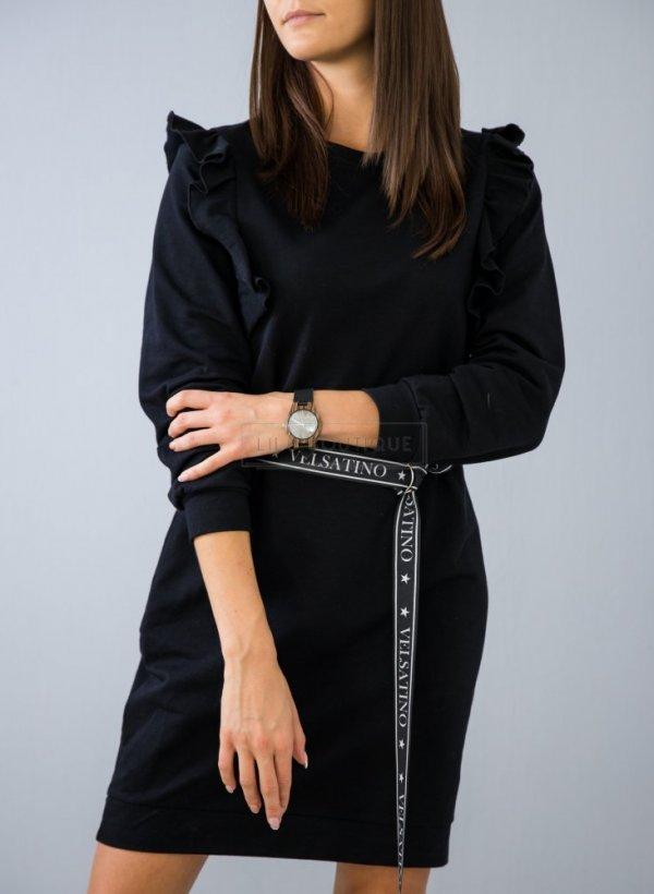 Sukienka Velsatino czarna