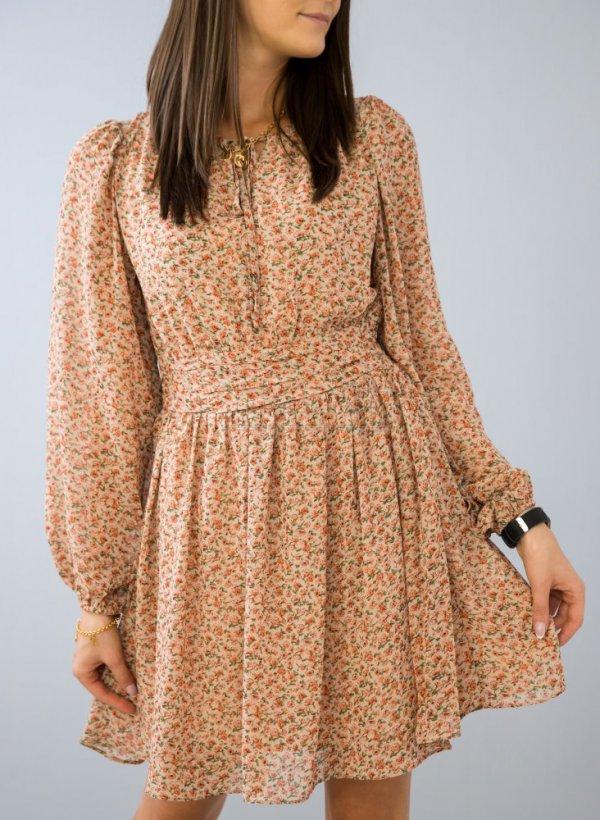 Sukienka Ideal w kwiatowy deseń