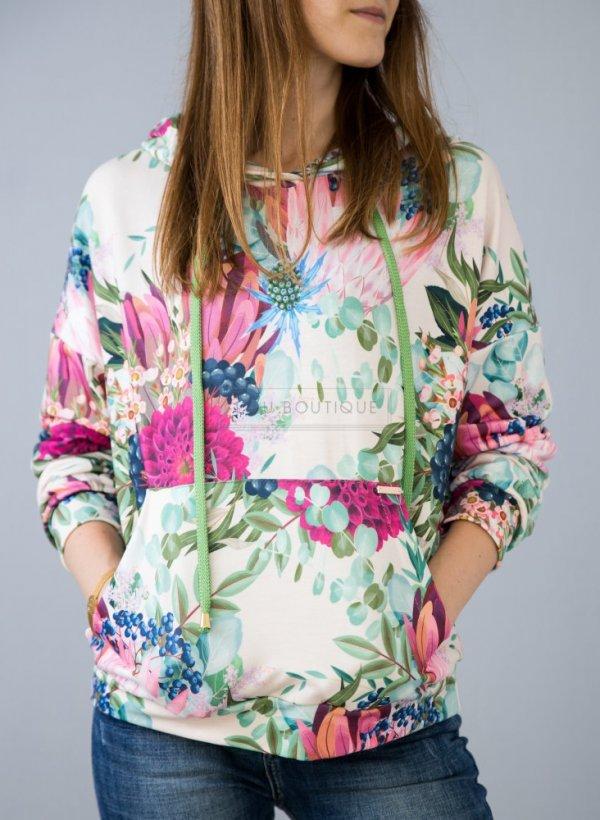 Bluza w kwiaty Justo
