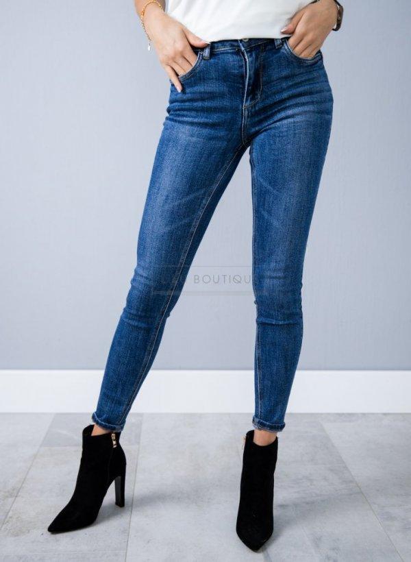 Spodnie jeansowe dark Carlos