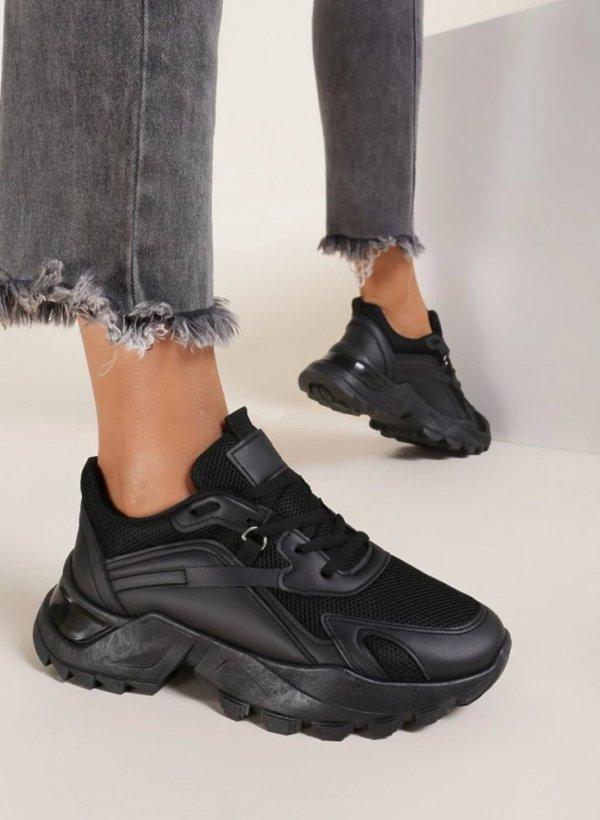 Sneakersy Hot Spot czarne