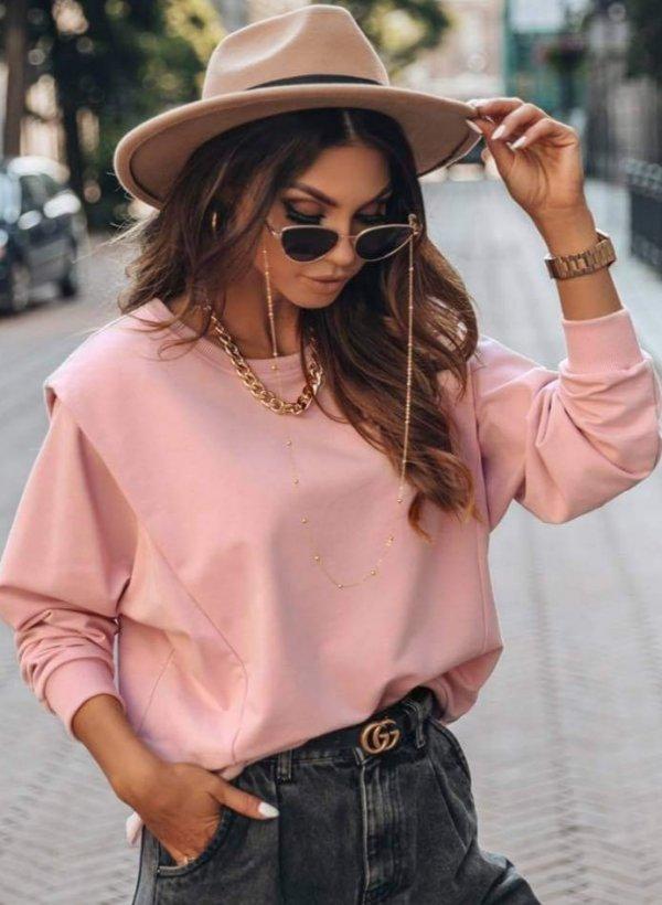 Bluza z zakładką Noemi pink