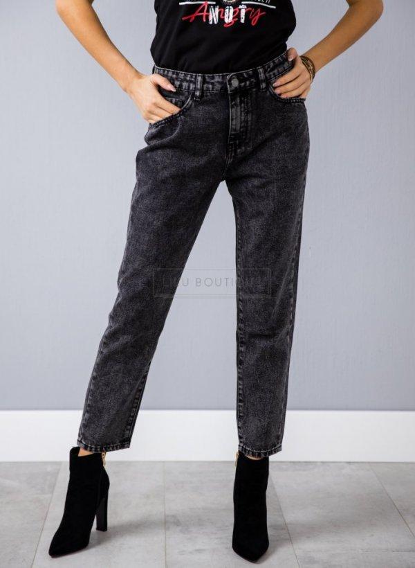 Spodnie Miss dekatyzowane czarne