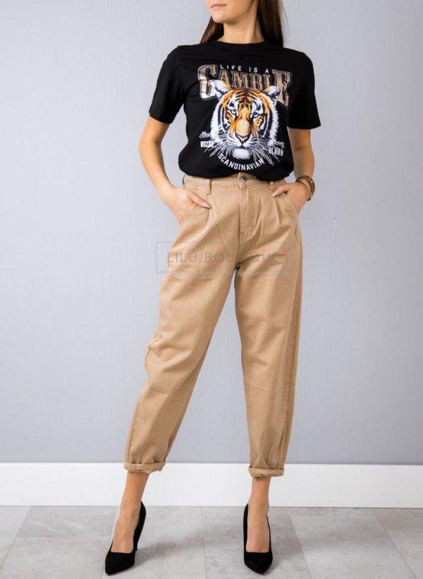 Spodnie Slouchy Adore coffe