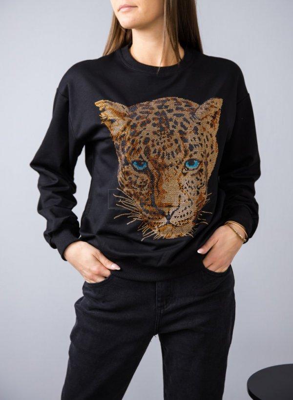 Bluza Jaguar z kolorowymi cyrkoniami