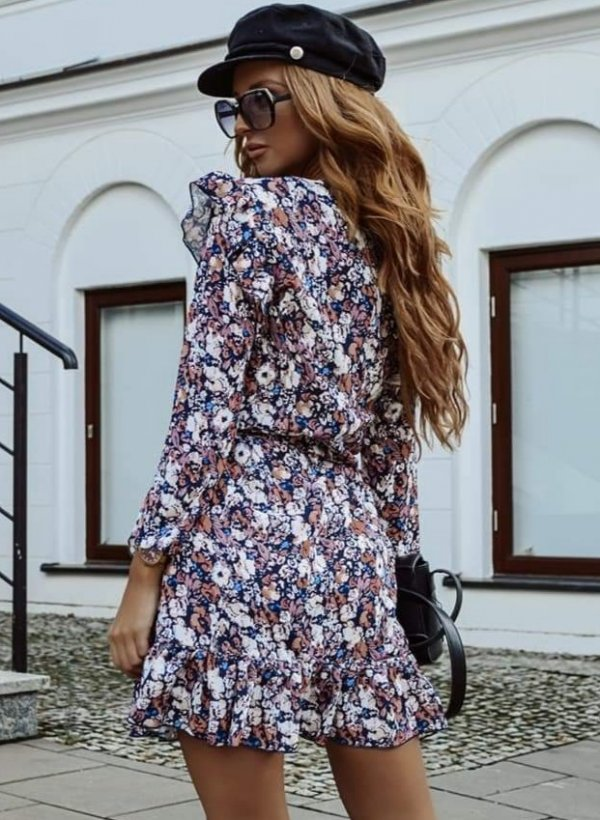 Sukienka Romantica multicolor