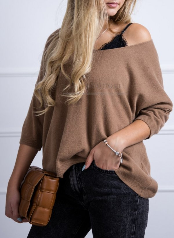 Sweter Meaux camel