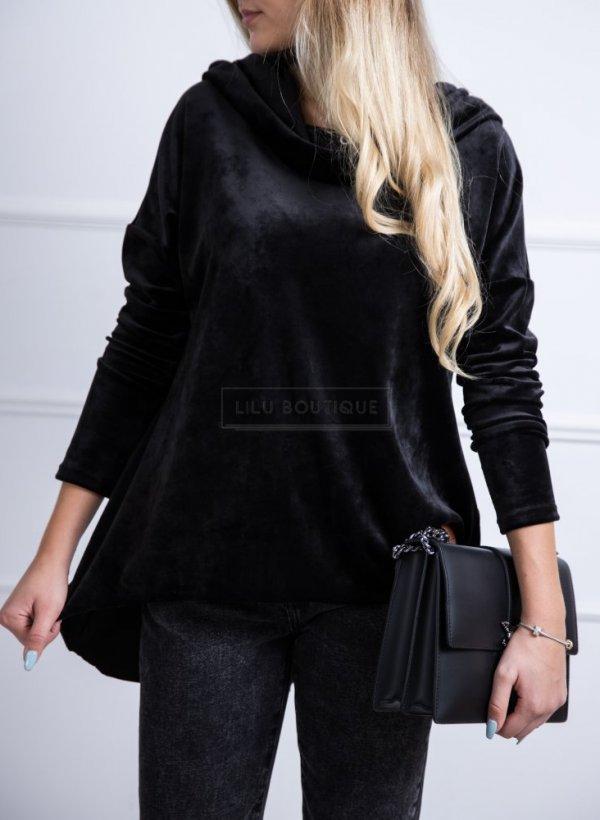 Bluzka zamszowa Amorrre czarna