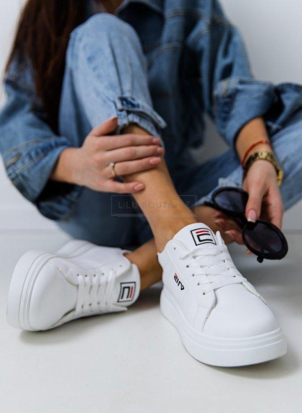 Sportowe buty Eila white& black