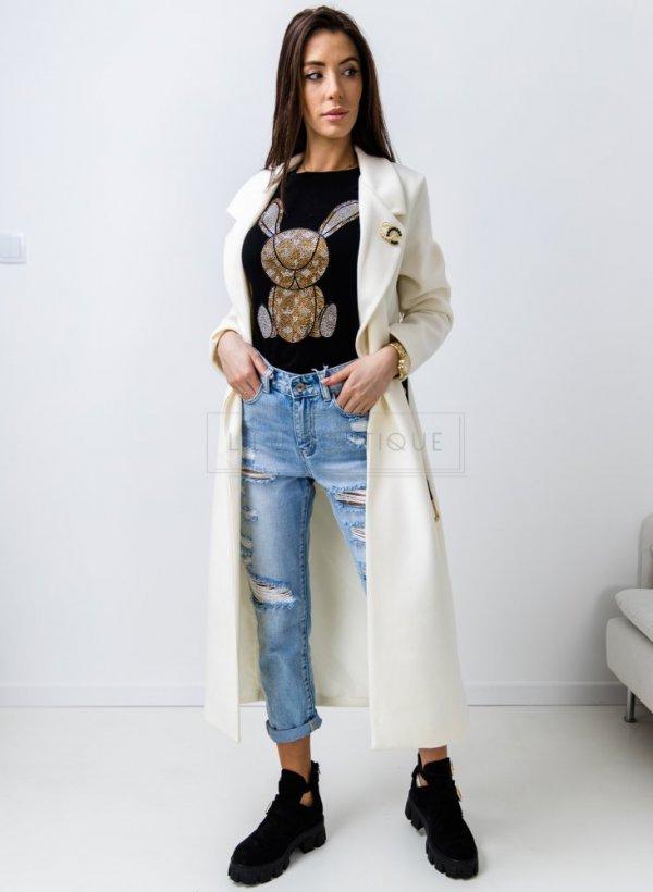 Płaszcz wiosenny Courbevoie krem