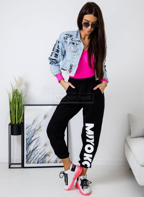 Spodnie dresowe MIYOKO czarne
